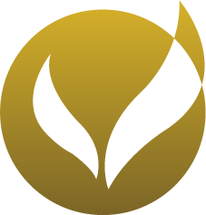 gold blended logo