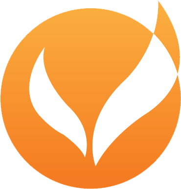 Orange blended logo